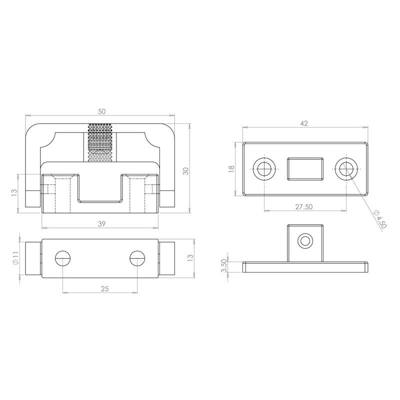 Diagram Image for WL05 Window Security Lock