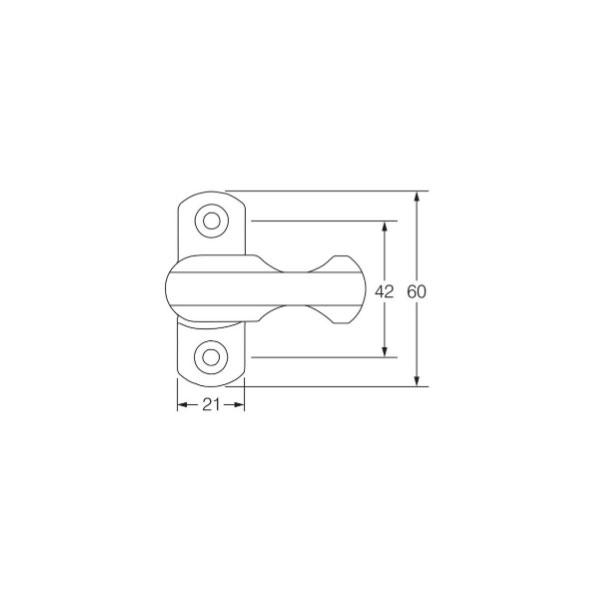 Diagram Image for WL06 uPVC Window and Door Jammer