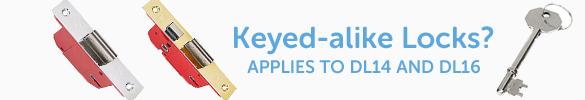 Keyed Alike Door Locks