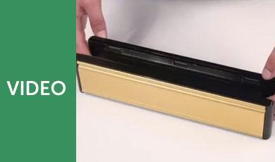 Standard uPVC Door Letterbox Features