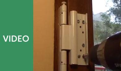 How to Install a uPVC Door Security Bolt?