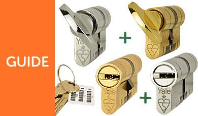 Keyed Alike Euro Cylinders Can Be Made To One Key Pattern!