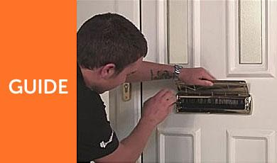 How To Replace a Letterbox for uPVC Door