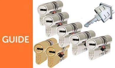 3 Star Keyed Alike Locks - One Key Pattern!