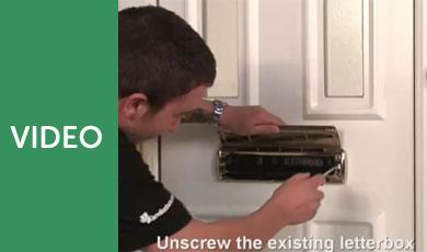 How To Fit a uPVC Letterbox - Watch This Installation Video