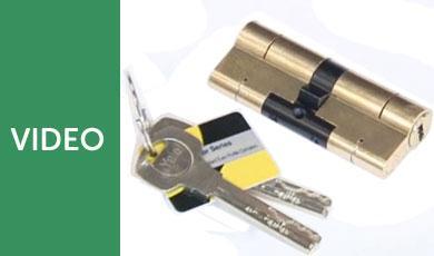 Yale Security Cylinder Euro Lock