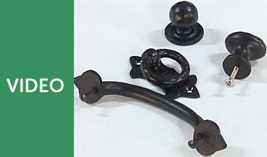Black Antique Handles & Knobs