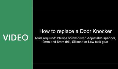 How to Install a Variable Fix Door Knocker
