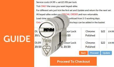 How To Order Keyed-Alike Yale Superior Euro Cylinders