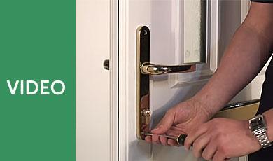 How to Replace uPVC Door Handles using Video