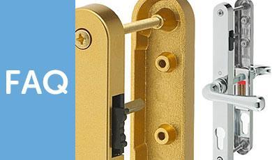 Snib Latch Door Handles - FAQ's