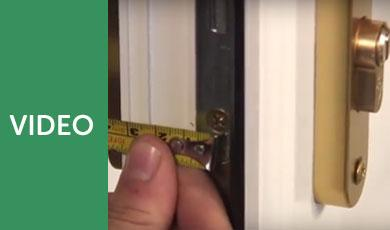 Replace and Install an Anti Snap Euro Lock