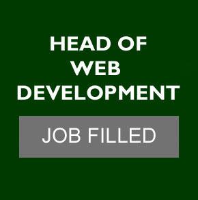 Head of web development