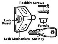 Patio door locks accessories
