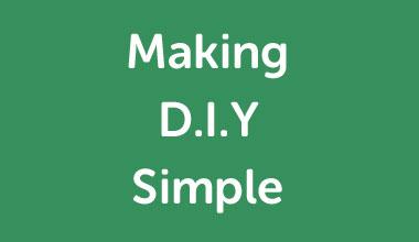 Making D.I.Y Simple Slogan