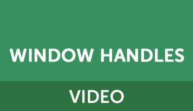 window handle videos
