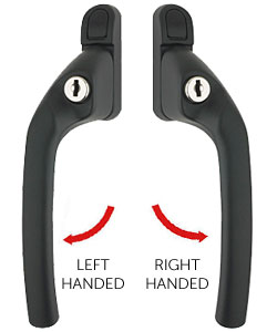 cranked espag handles left and right
