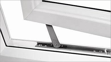 Window restrictors for double glazed windows