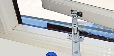 Window Stay Lock for Secure Ventilation